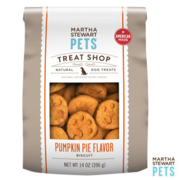 Martha Stewart Pets® Treat Shop Natural Pumpkin Pie Dog Treat