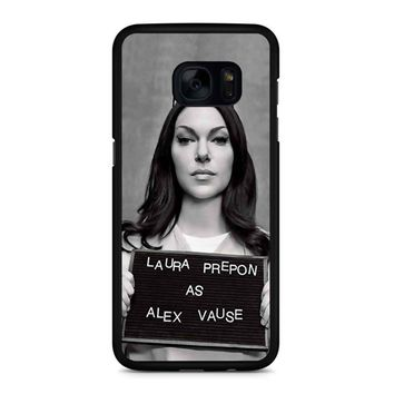 Orange Is The New Black Alex Vause 1 Samsung Galaxy S7 Edge Case