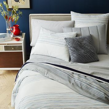 Skinny Mini Stripe Duvet Cover + Shams