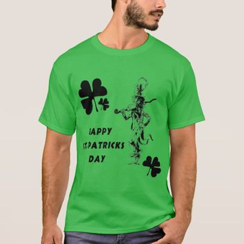 Happy St. Patrick's Day Men's Basic T-Shirt