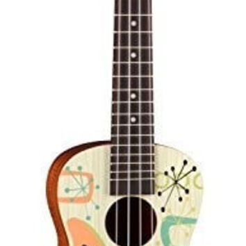 Luna UKE RADIOACTIVE Ukulele Concert with Bag