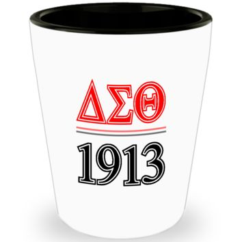 Delta Sigma Theta 1913 Shot Glass