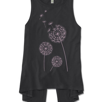 NEW! Wishful Thinking Split Back Organic Tank