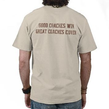 Good Coaches Win - Great Coaches Cover (vintage) Tee Shirts from Zazzle.com