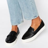 ASOS DARE ME Loafer Sneakers at asos.com