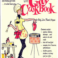 The Gay Cookbook 11x17 Retro Book Cover Poster