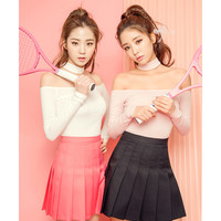 Choker off shoulder top - I know you wanna kiss me. Thank you for visiting CHUU.