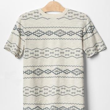 Gap Boys Southwest Stripe Tee