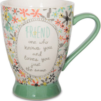 Friend one who knows you and loves you just the same Mug