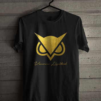 Vanoss Limited Edition Gold Owl  Shirt For Man And Woman / Tshirt / Custom Shirt