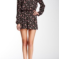 Floral Surplice Romper (Juniors)