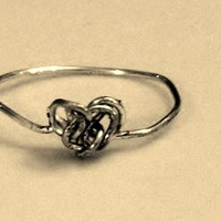 Knot Heart Ring from My Friends Closet