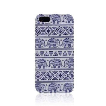 Elephant Ethnic Style Handmade iPhone creative cases for 5S 6 6S Plus
