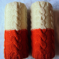 2 In 1 Knit Long Legwarmers Boot Socks Boot Cuffs Cable Knit Boot Toppers Women Men Fashion Accessories FREE SHIPMENT