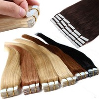 16-22 inch Women Fashion Tape In Skin Weft uman Hair Extensions Style