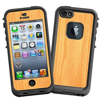 Red Oak 2 Skin for the iPhone 5 Lifeproof Case by skinzy.com