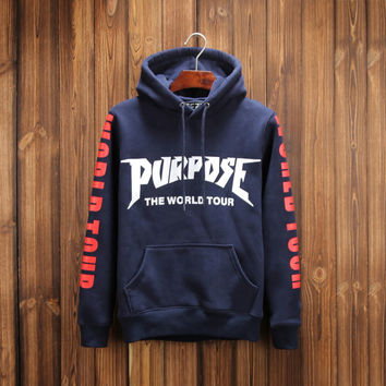 The World Tour Pullover Hoodies 3 Colors [9282217223]