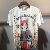NEW 100% Authentic gucci 2018ss fashion t shirt ※004