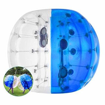Popsport Inflatable Bumper Ball 4FT/5FT Bubble Soccer Ball 0.8mm Eco-Friendly
