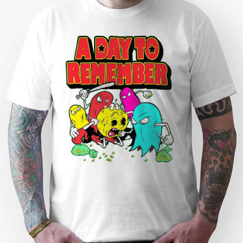 A Day To Remember Pac-Man Unisex T-Shirt