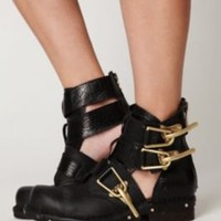 Jeffrey Campbell Past Due Cutout Ankle Boot at Free People Clothing Boutique