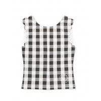 Hampton top in gingham