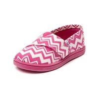 Toddler TOMS Classic Chevron Casual Shoe
