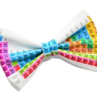 Periodic Table of Elements print Hair Bow