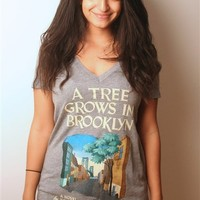 A Tree Grows in Brooklyn book cover t-shirt | Outofprintclothing.com