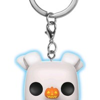 The Nightmare Before Christmas | Zero GW POP! KEYCHAIN