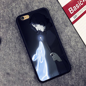 SNAPE DOE PATRONUS LOVE HARRY POTTER Phone Case Skin For iPhone 6 6S Plus 7 7 Plus 5 5S 5C SE 4S Rubber Soft Cell Housing Cover