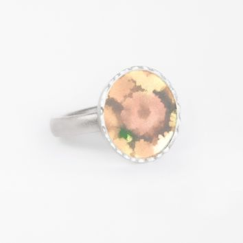 DAISY GARDEN-YELLOW-RING