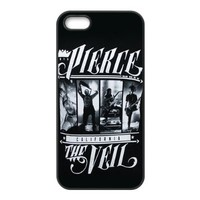 Teentopvogue Back Case for iPhone 5 5S TPU Carrying Case Music Band Pierce the Veil Poster Apple Iphone