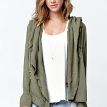 Green army jacket at PacSun.com