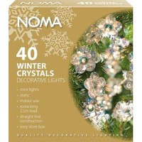 Noma 4331H Winter Crystals 40 light set - Halogen Lamps and Light Bulbs