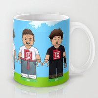 Lego: One Direction 1D Mug by Akyanyme | Society6