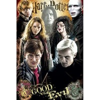 (24x36) Harry Potter and the Deathly Hallows - Part II - Good vs. Evil Poster