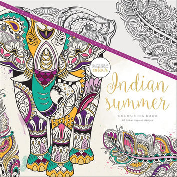 Kaiser Colour Indian Summer Adult Coloring Book