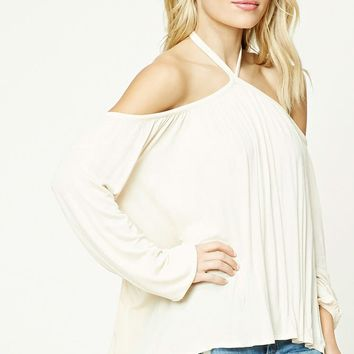 Contemporary Open-Shoulder Top