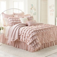 LC Lauren Conrad Ella 2-pc. Comforter Set - Twin/XL Twin (Pink)