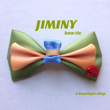 jiminy clip on bow tie