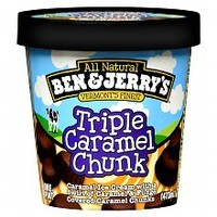 Ben & Jerry's Ice Cream Triple Caramel Chunk | Walgreens
