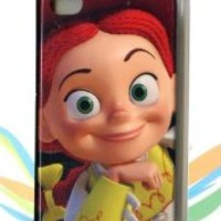 Disney PIXAR Toy Story 3 for iPhone 4 / 4s Plastic Hard Case Jessie Cowgirl Black