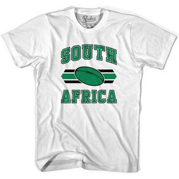 South Africa 90's Rugby Ball T-shirt-Adult