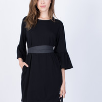 Flare the Bell Dress