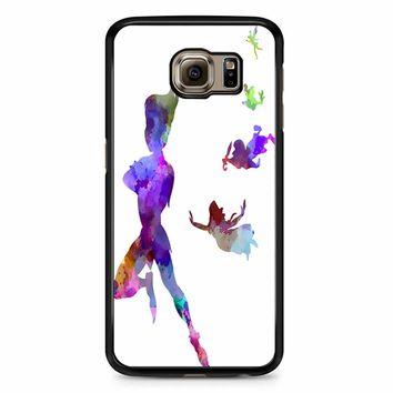 Peter Pan In Watercolor Samsung Galaxy S6 Case