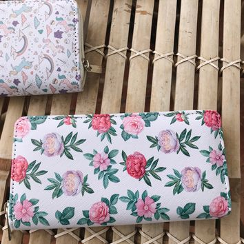 SALLY WALLET- FLORAL