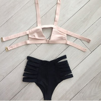 Bandage Bikini Bathing Suit B007749
