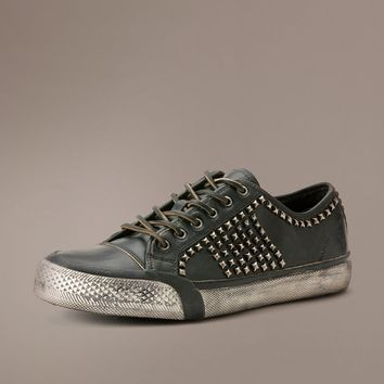 Black Greene Studded Low by TheFryeCompany,