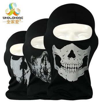 Original Ghost Masks Skull Paintball Costume Outdoor CS Helloween Airsoft Hunting Bicycling Army Tactical Full Face Mask